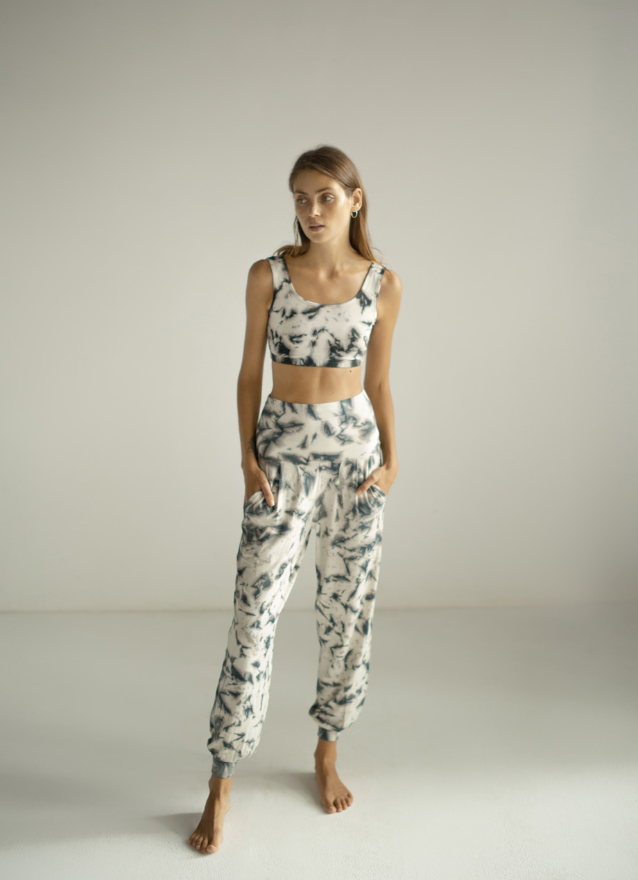 Natural tiedye Fortune pants