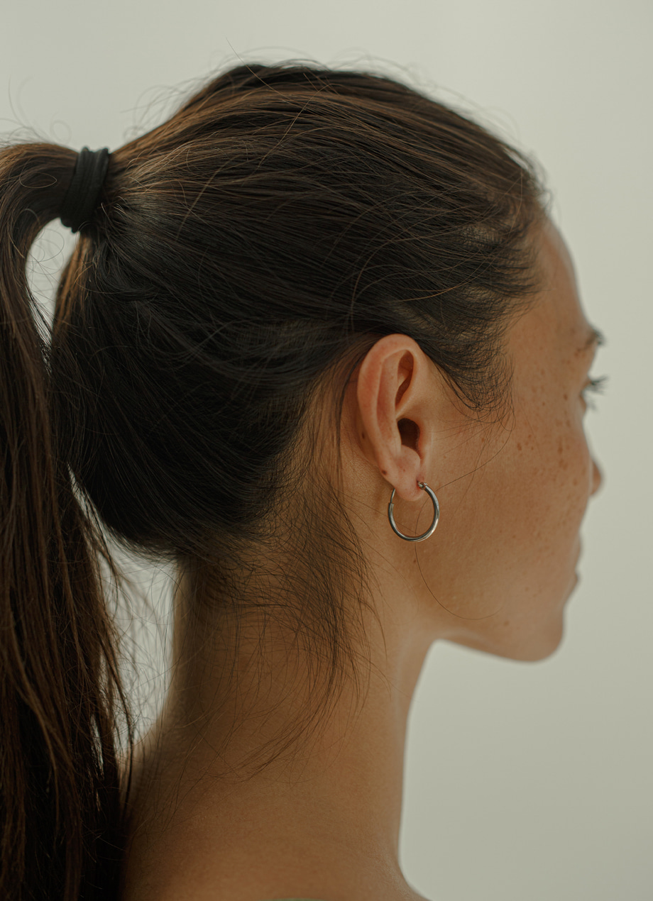 Simple earring - SIlver / Gold