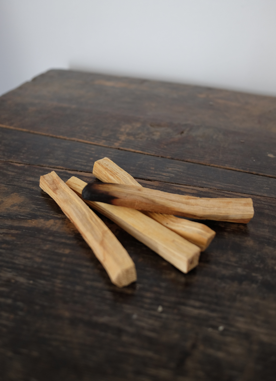 Palo santo incense sticks