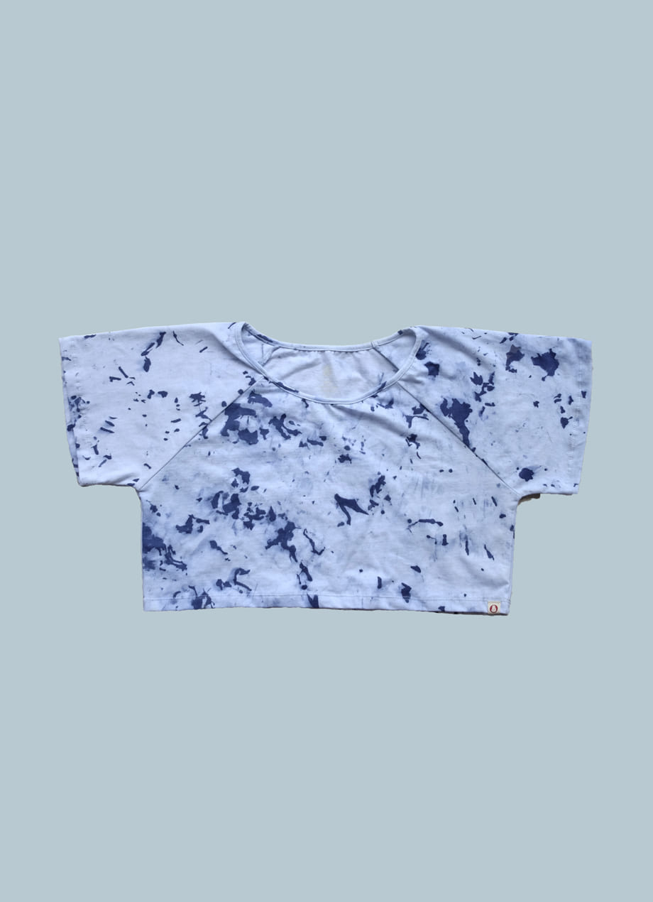 [ Limited ] Tiedye belly short sleeve #3